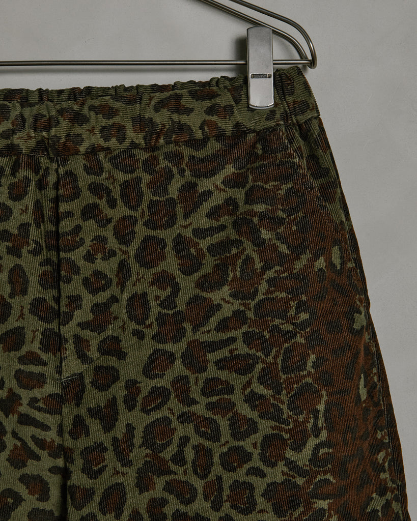 Yoyogi Pant in Cheetah Cord