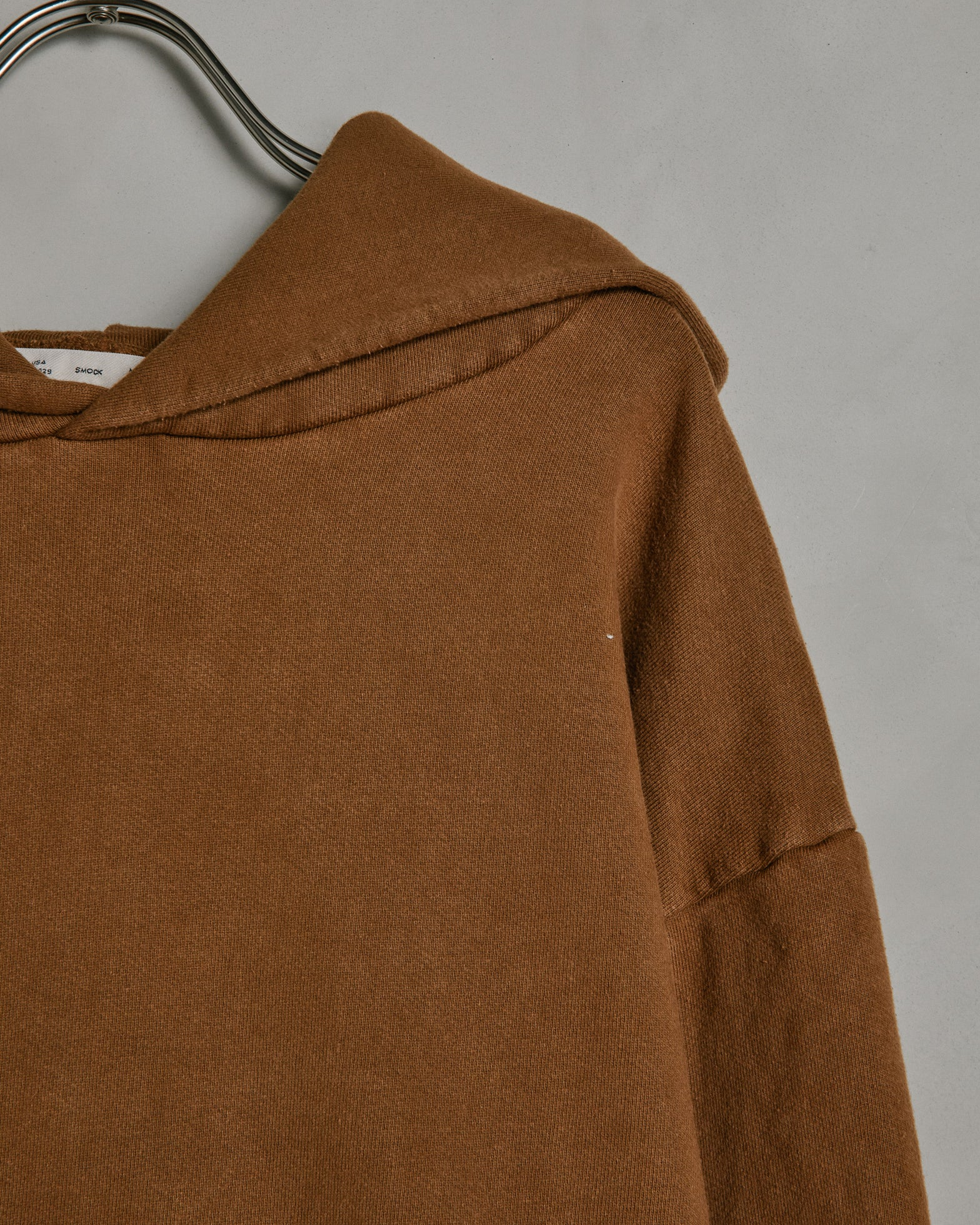 Hooded Pullover in Sienna