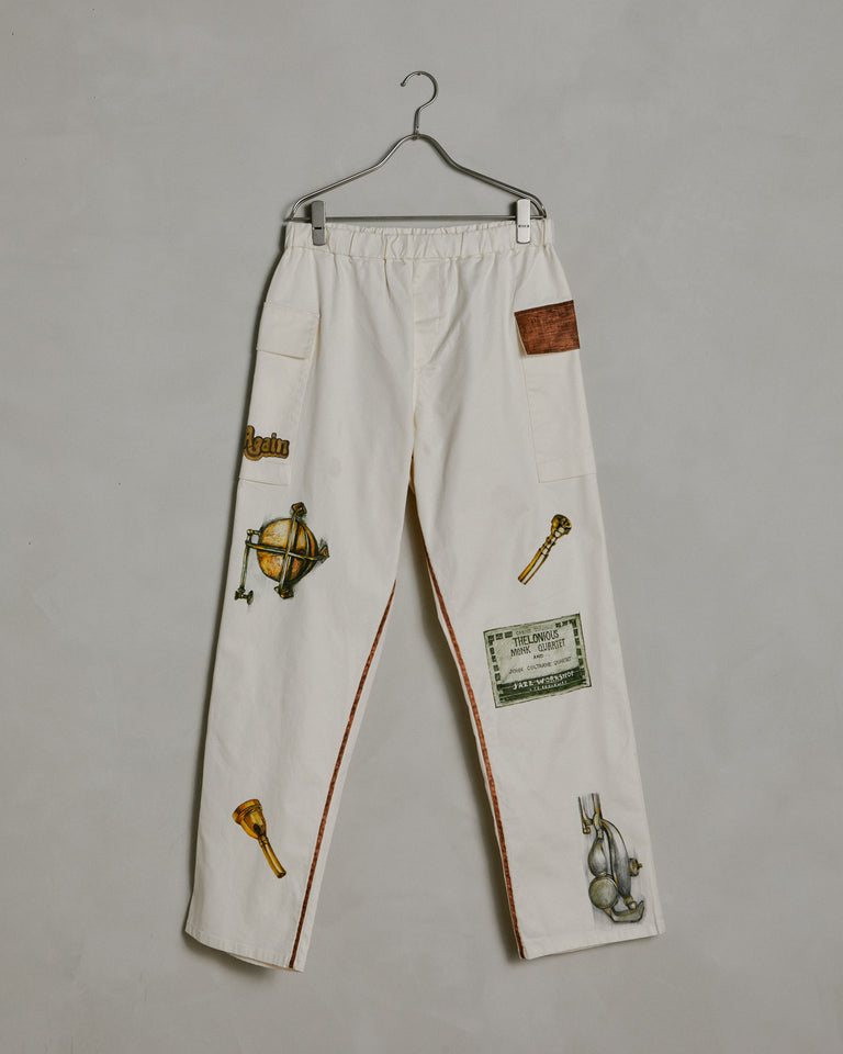 SMOCK x Rhee Studio Collector Pant in Natural