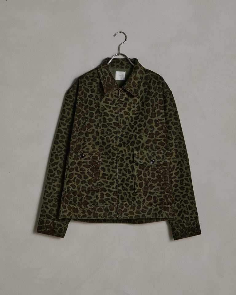 Cheetah Zip Jacket in Cheetah Print