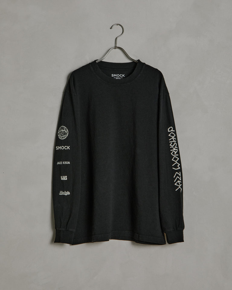 Piano LS Tee in Black