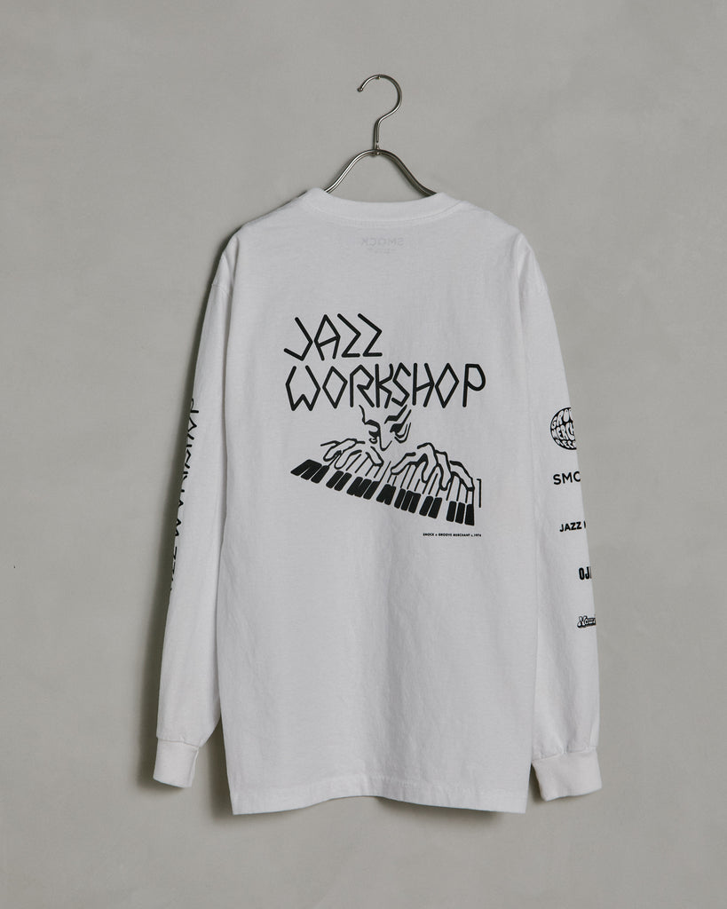 Piano Tee in White