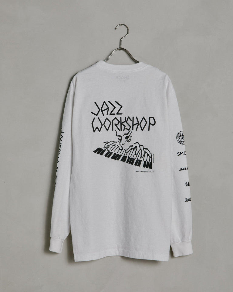 Piano LS Tee in Bone