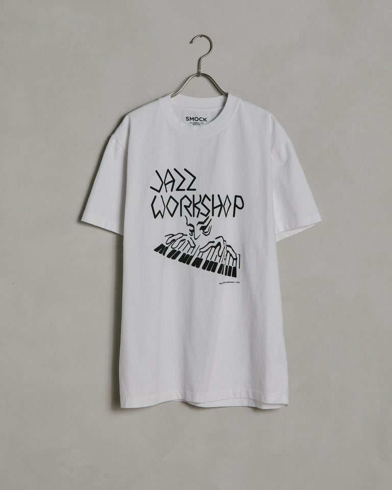 Piano SS Tee in Bone