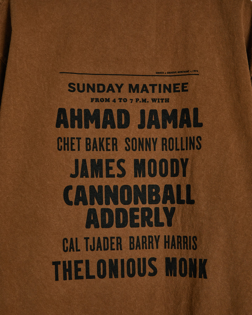 Sunday Matinee Tee in Sienna
