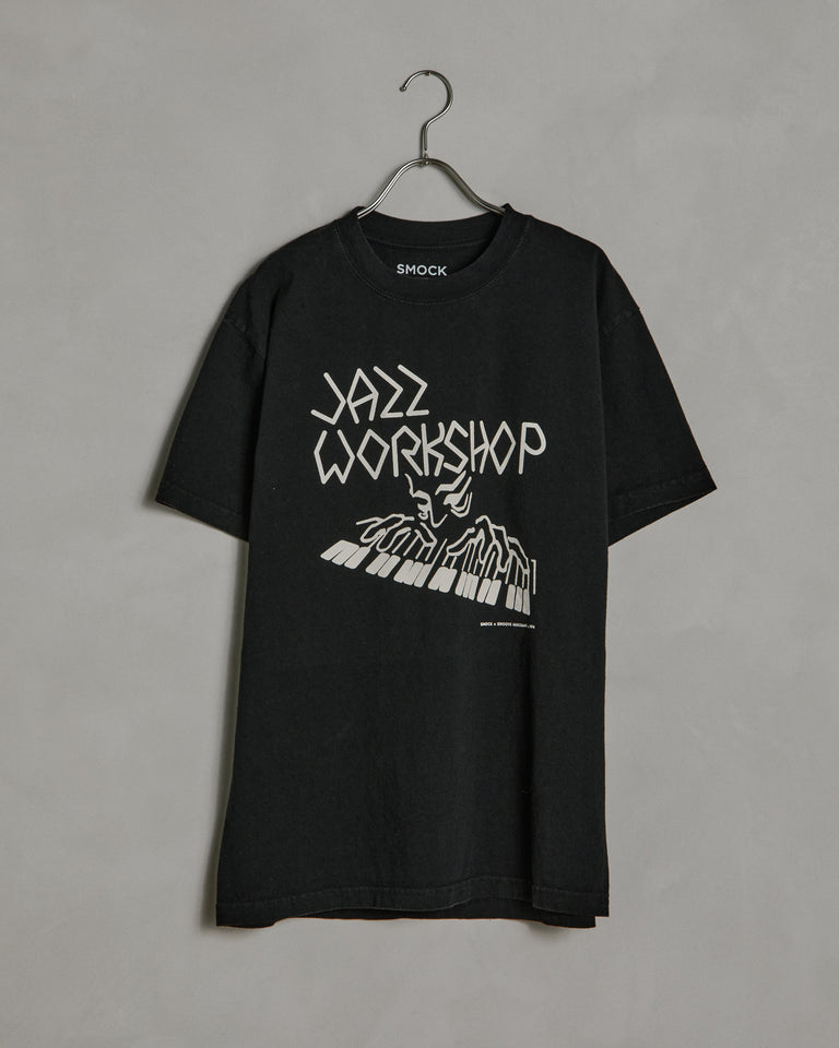 Piano SS Tee in Black