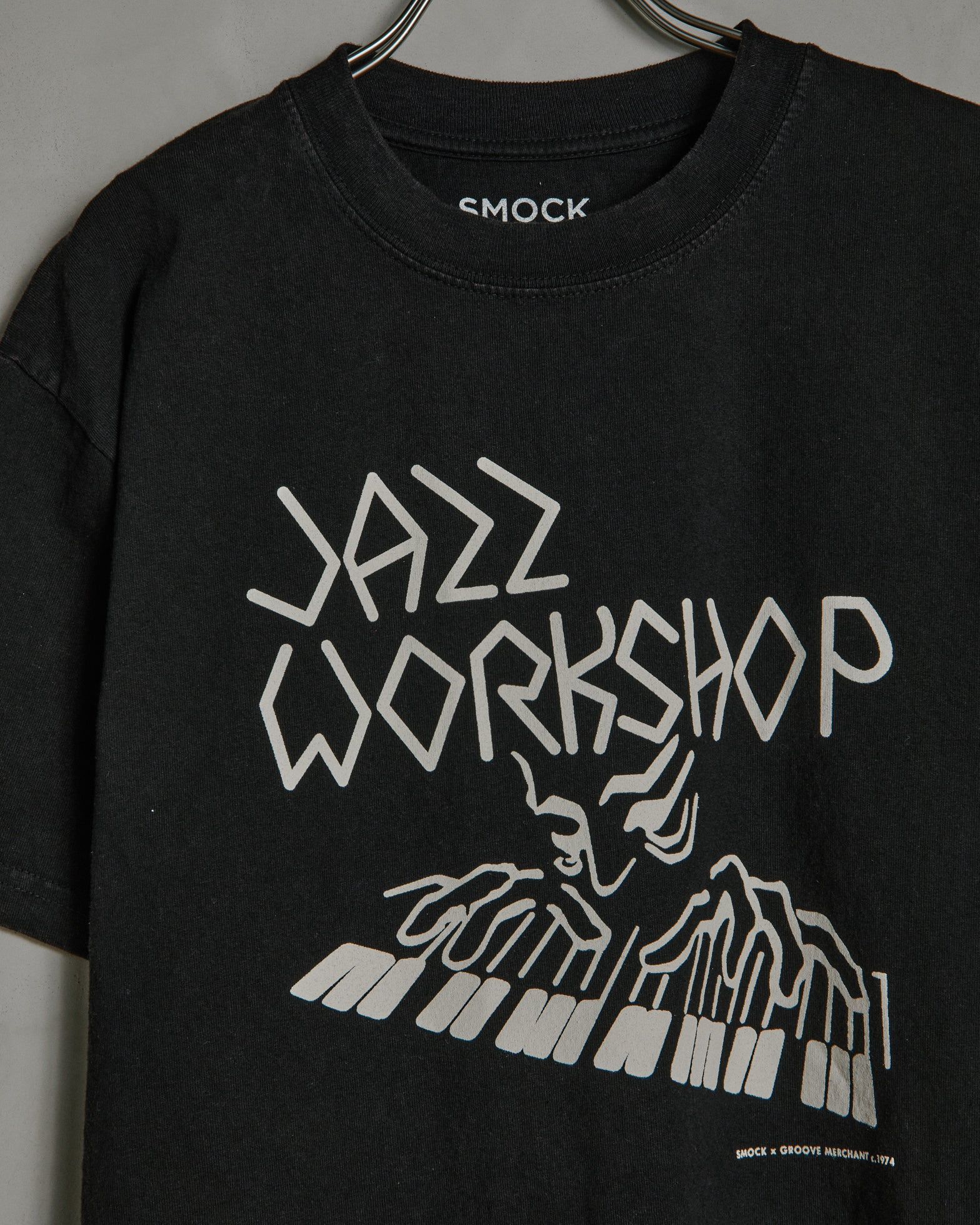 Piano Tee in Black