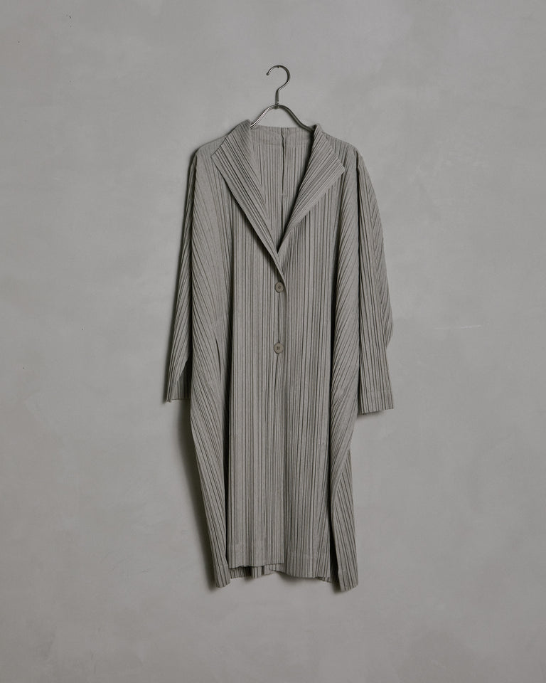 Ramie Trench in Grey