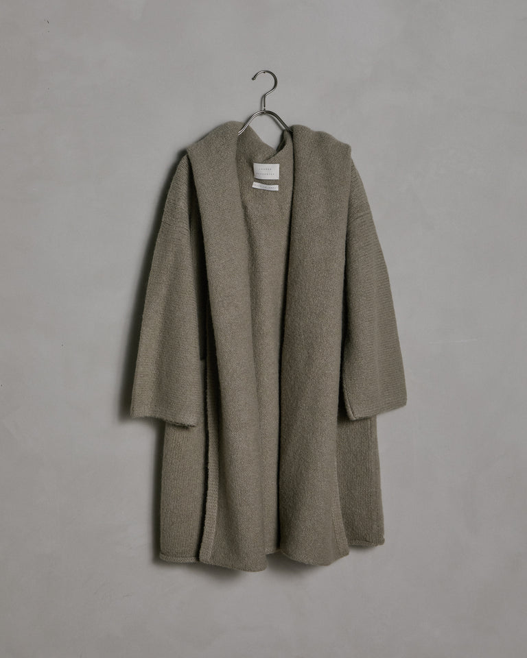 Capote Coat in Stoneware
