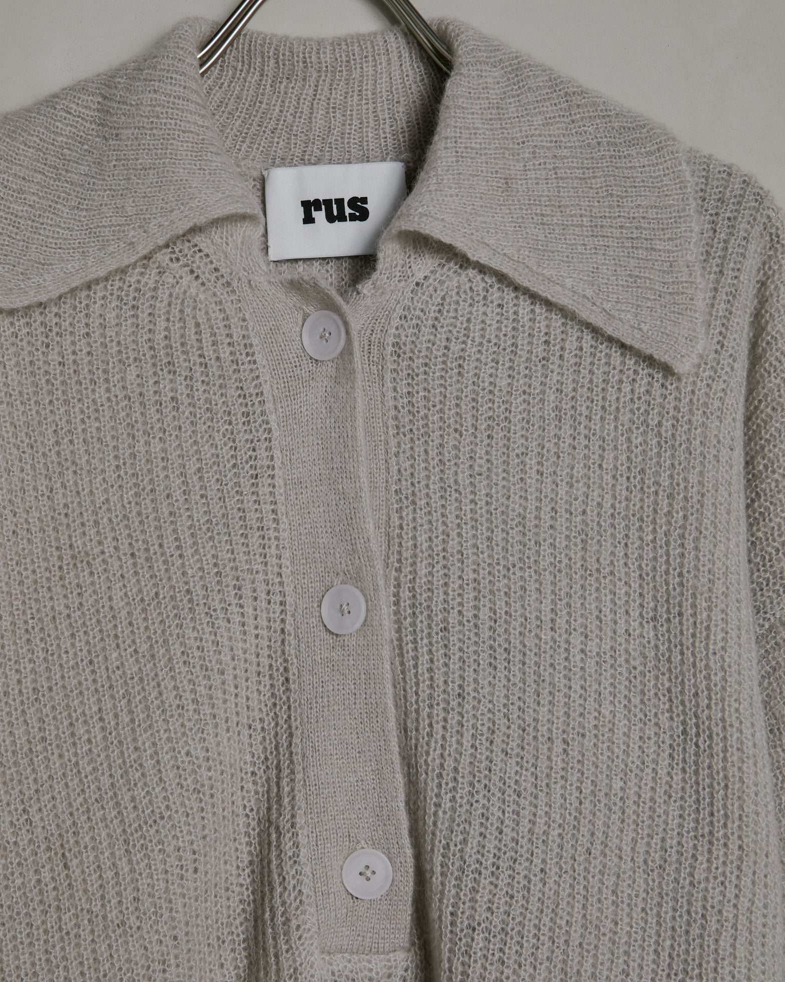 Fuku Cardigan in Ice