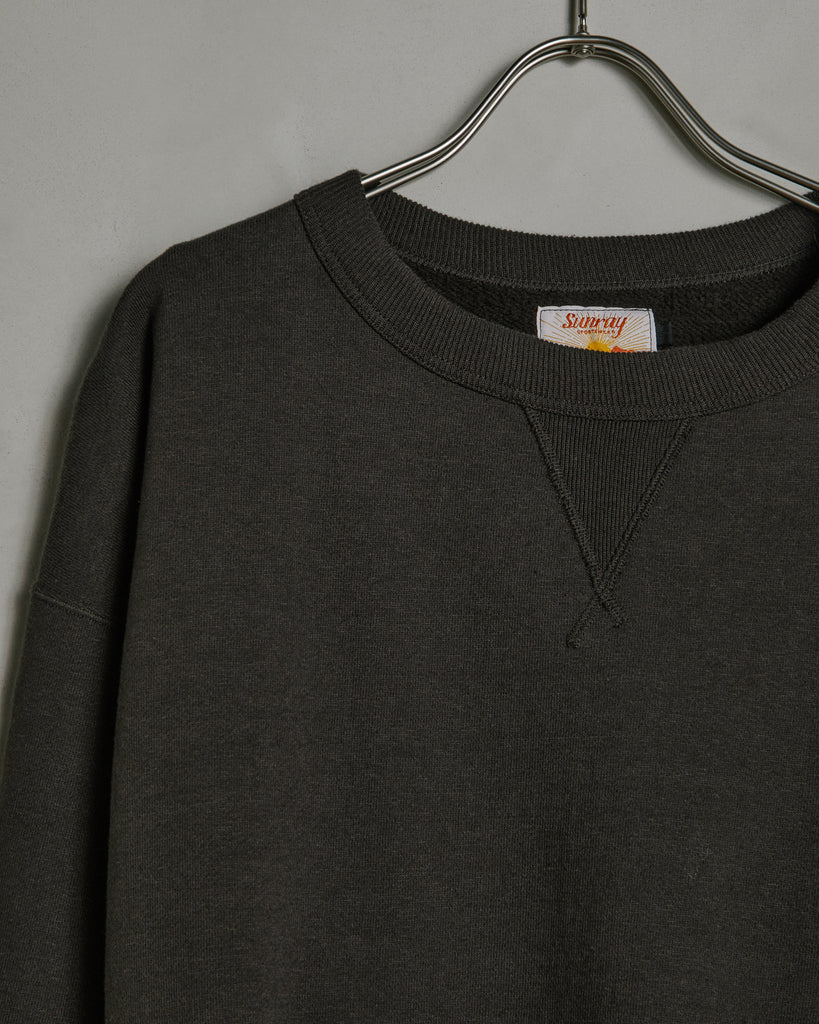 Laniakea Crew Neck Sweat in Black