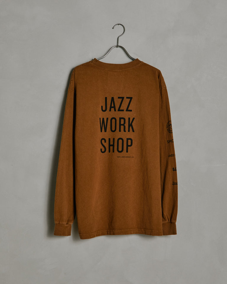 Jazz Workshop Tee in Sienna