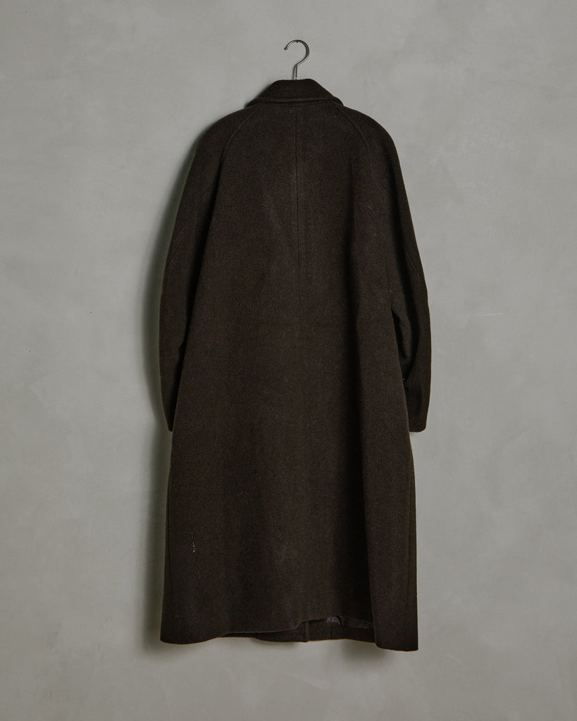 Raglan Coat in Brown