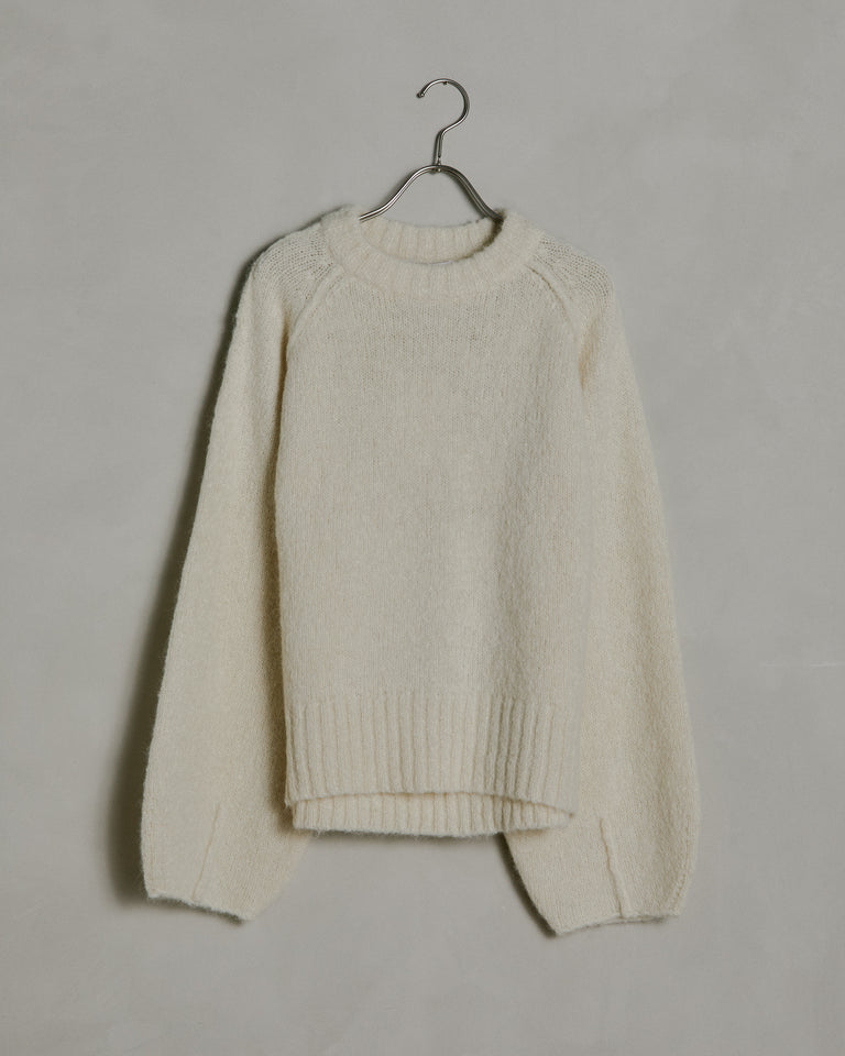 Francisca Sweater in Chalk White
