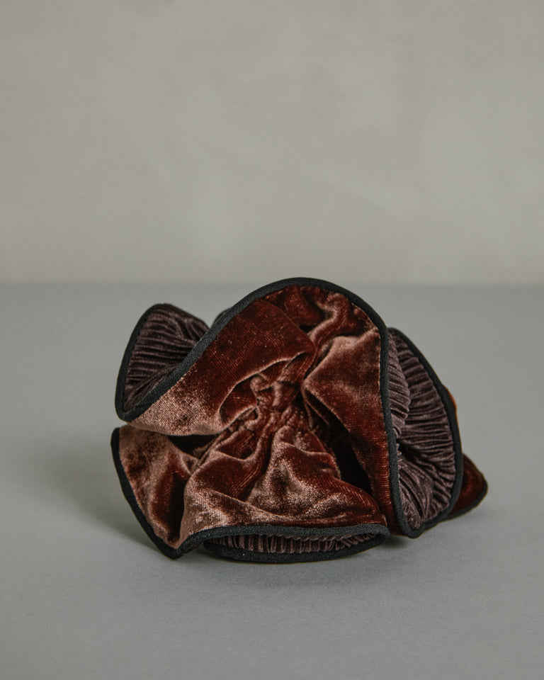 Germain Scrunchie in Chocolate