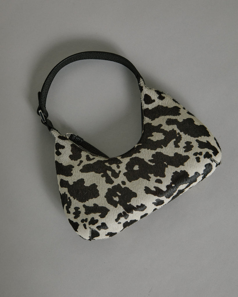 Baby Amber Bag in Cow-Print
