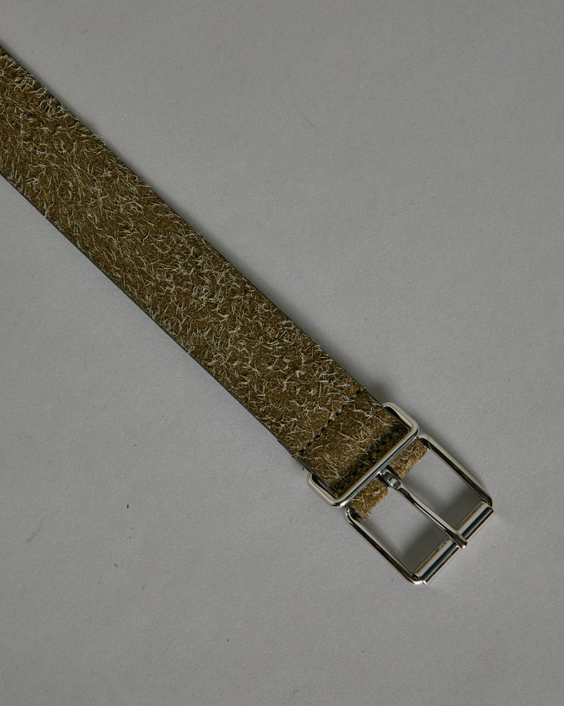 English Silver Buckle A1942PL151 Belt in Sand