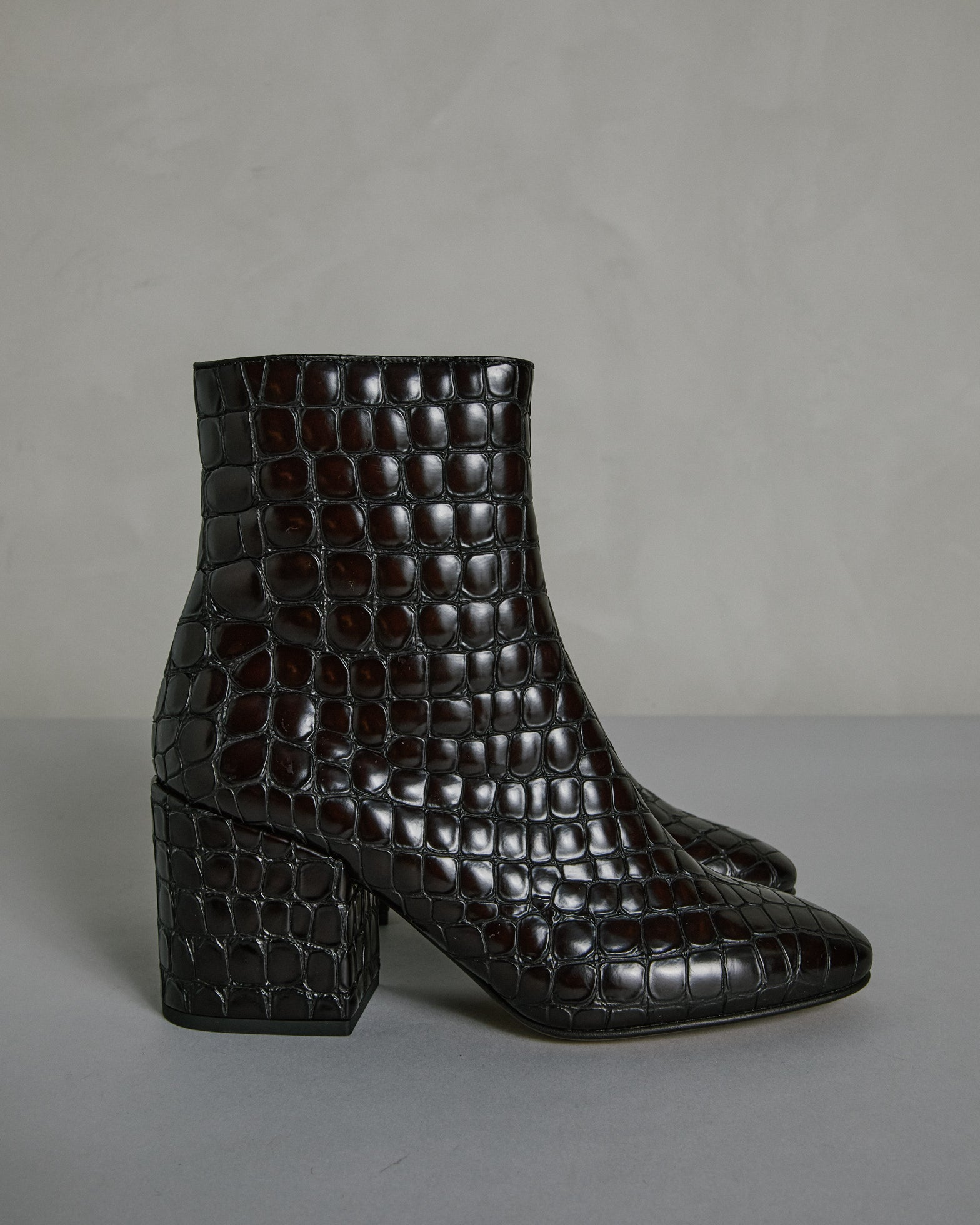 Mohawk General Store | Dries Van Noten | 202/19/H70 Boot in Dark Brown