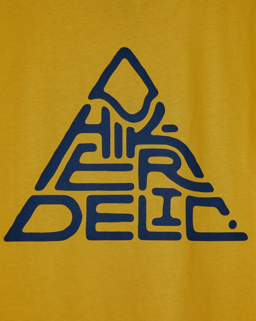 Mountain Logo T-shirt in Sunshine Yellow
