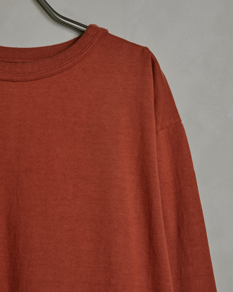 Makaha Long Sleeve Tee in Spiced Apple