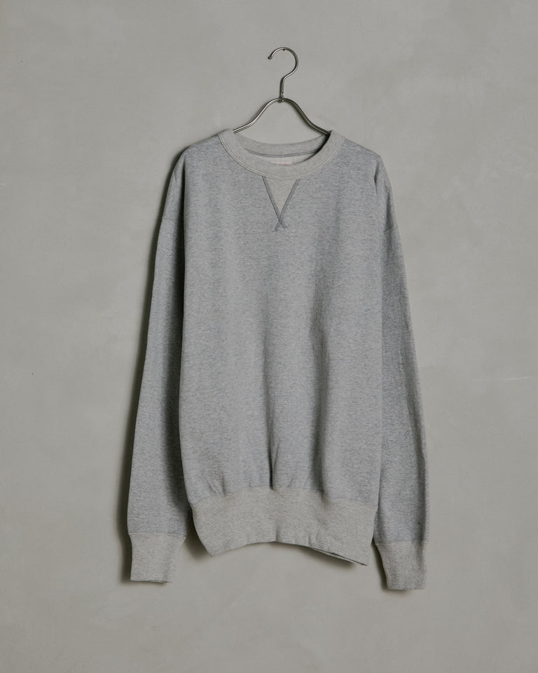 Laniakea Crew Neck Sweat in Grey