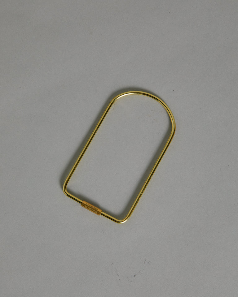 Contour Key Ring in Bend