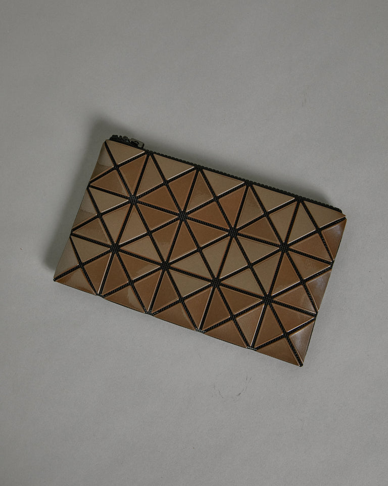 Prism Flat Pouch in Brown