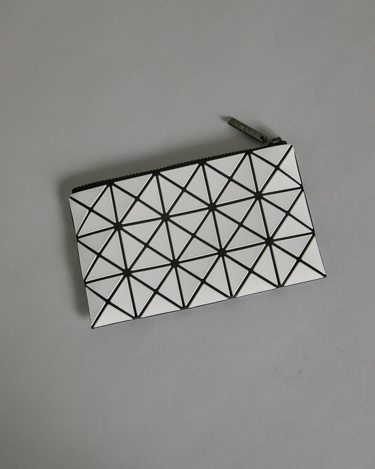 Prism Flat Pouch in White