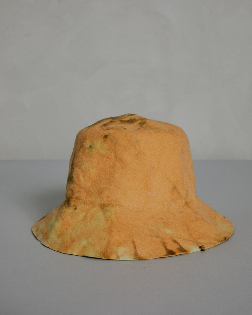 Miracolo Dye Bucket Hat in Yellow