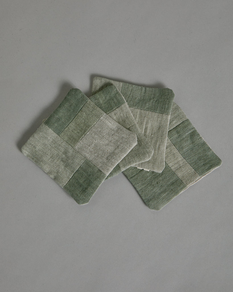 Coaster Set in Sage