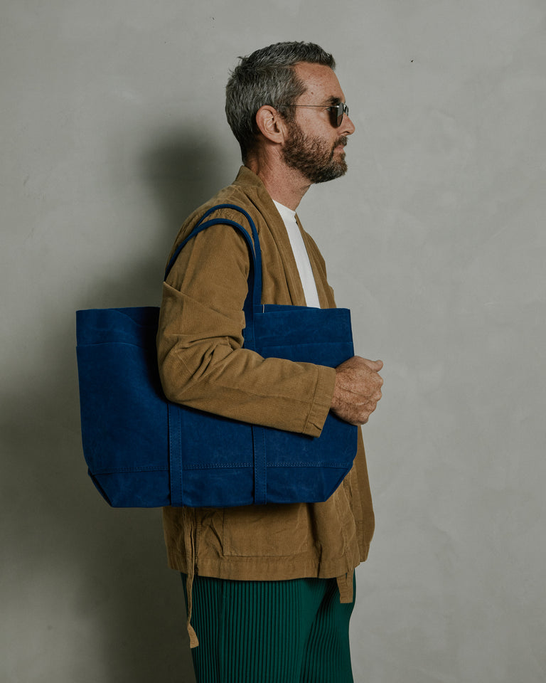 6-Pocket Tote in Blue