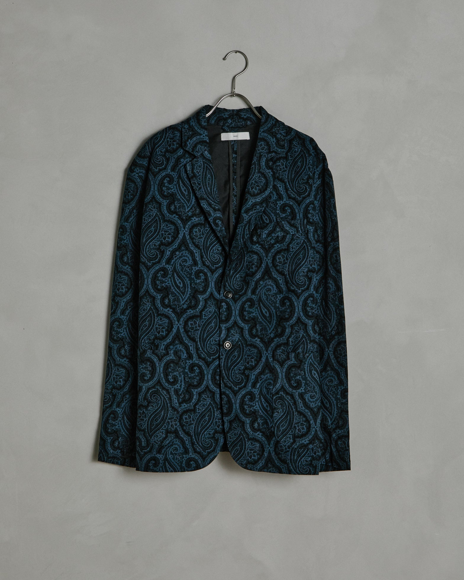 Monterey Pop Paisley Blazer in Navy