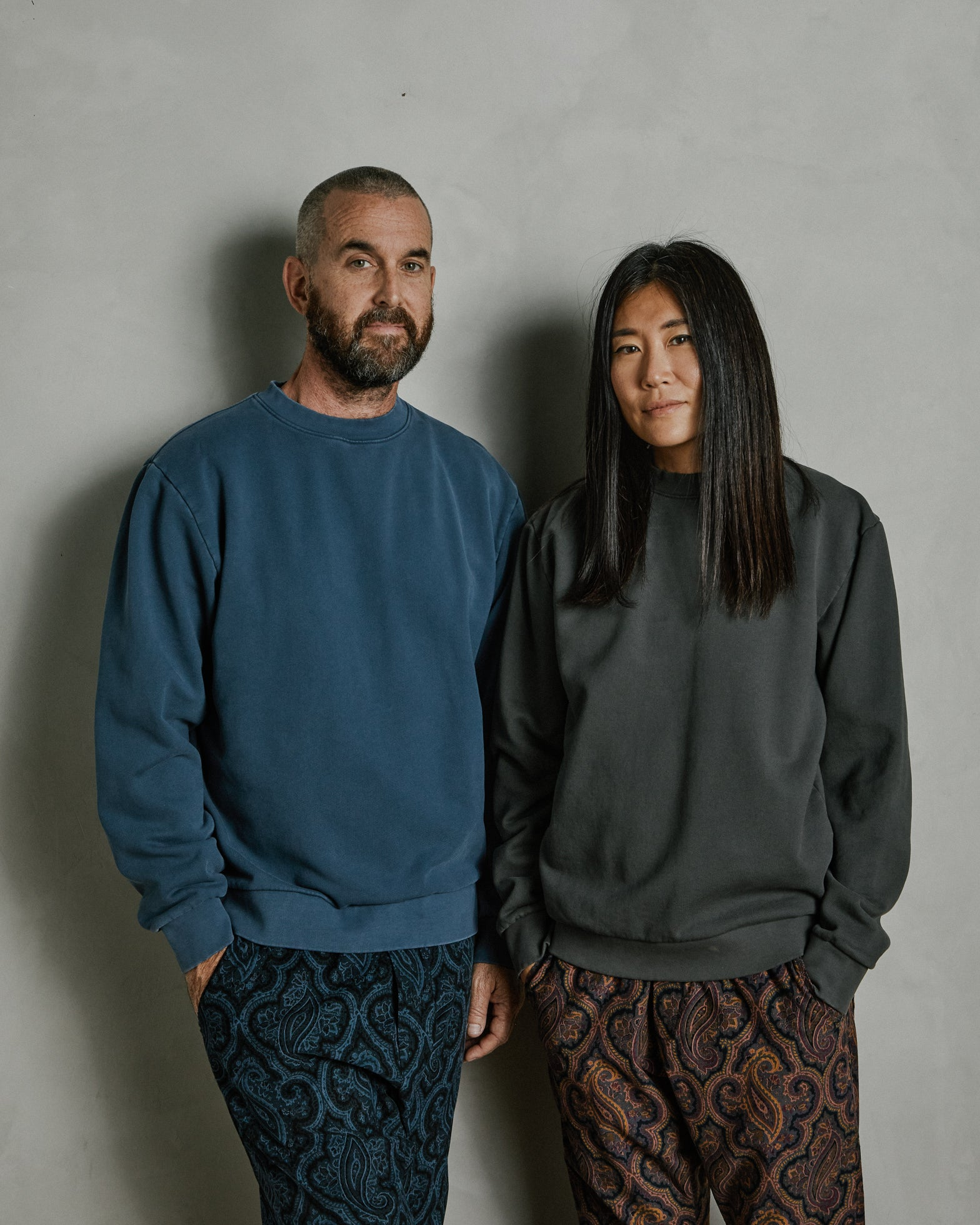 Albers Crew Neck Sweatshirt in Bauhaus
