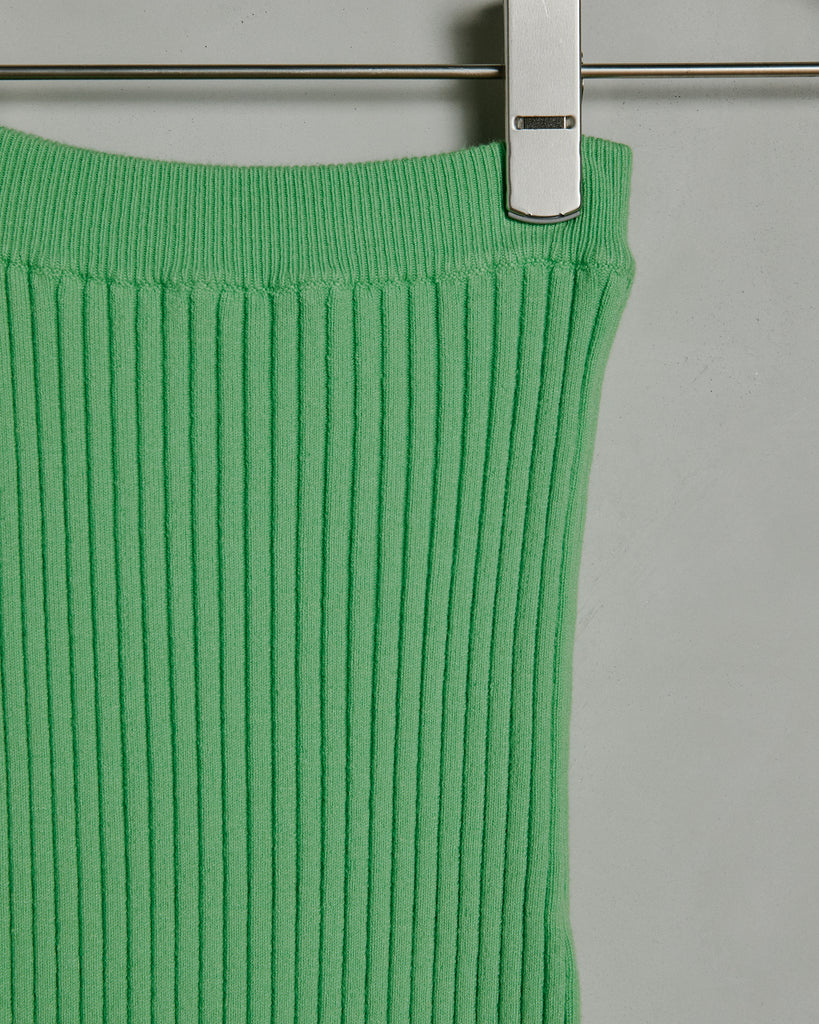 Nonna Tube Skirt in Celery