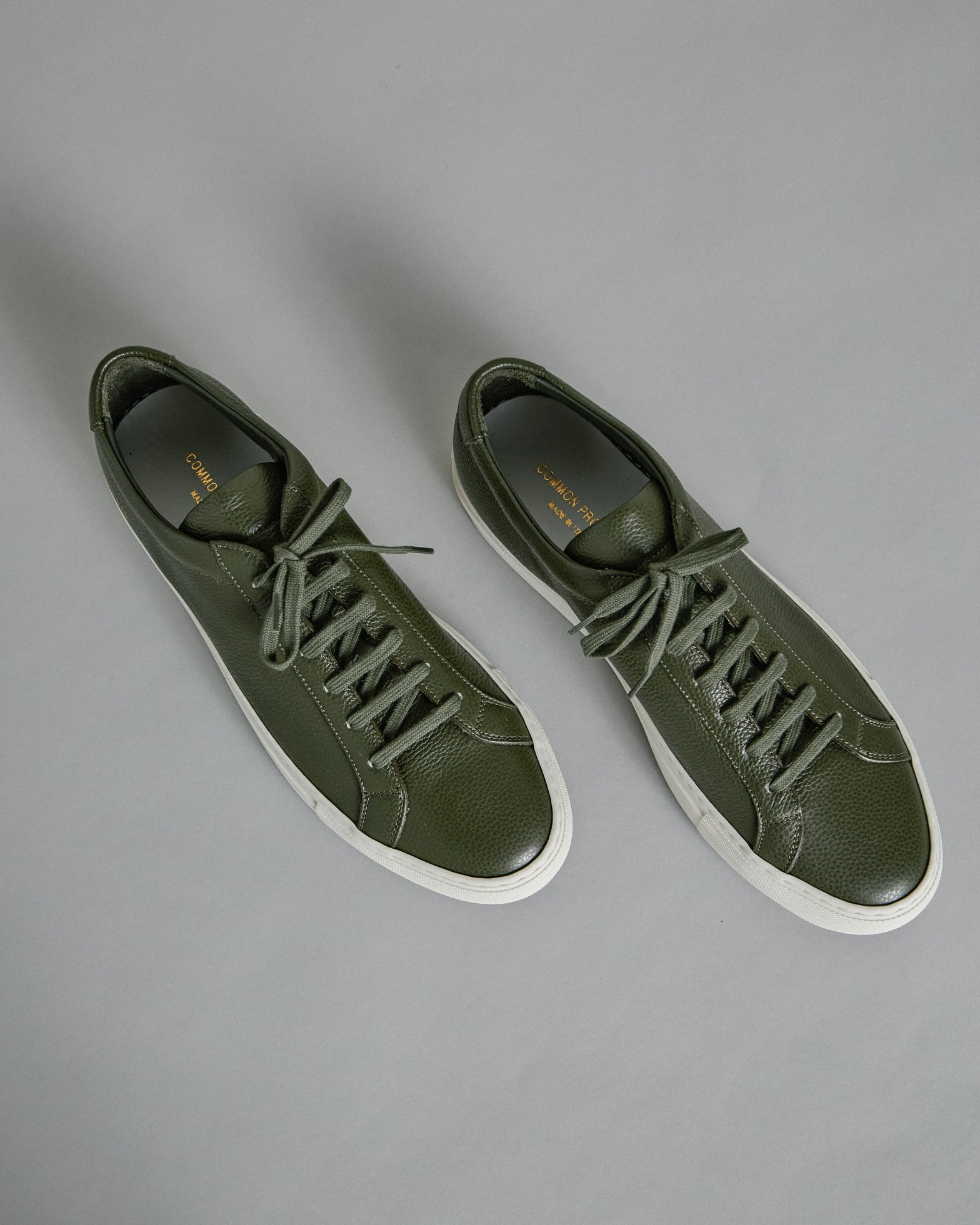 Achilles Pebbled 2277 in Olive
