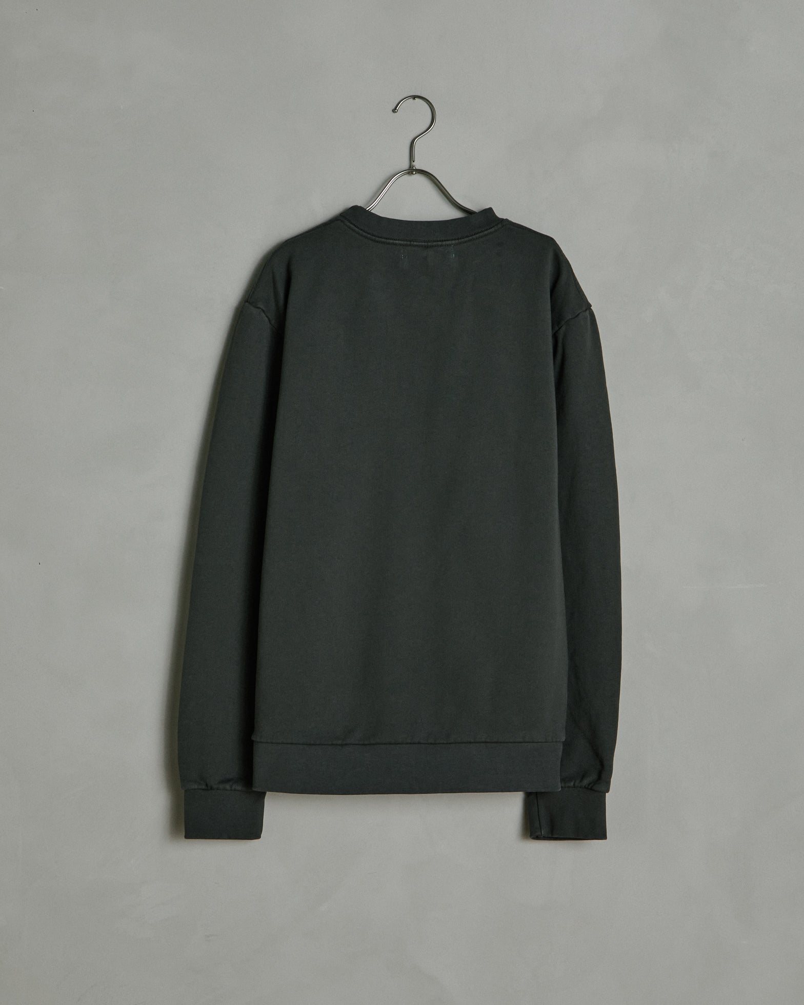 Albers Crew Neck Sweatshirt in Olive Drab