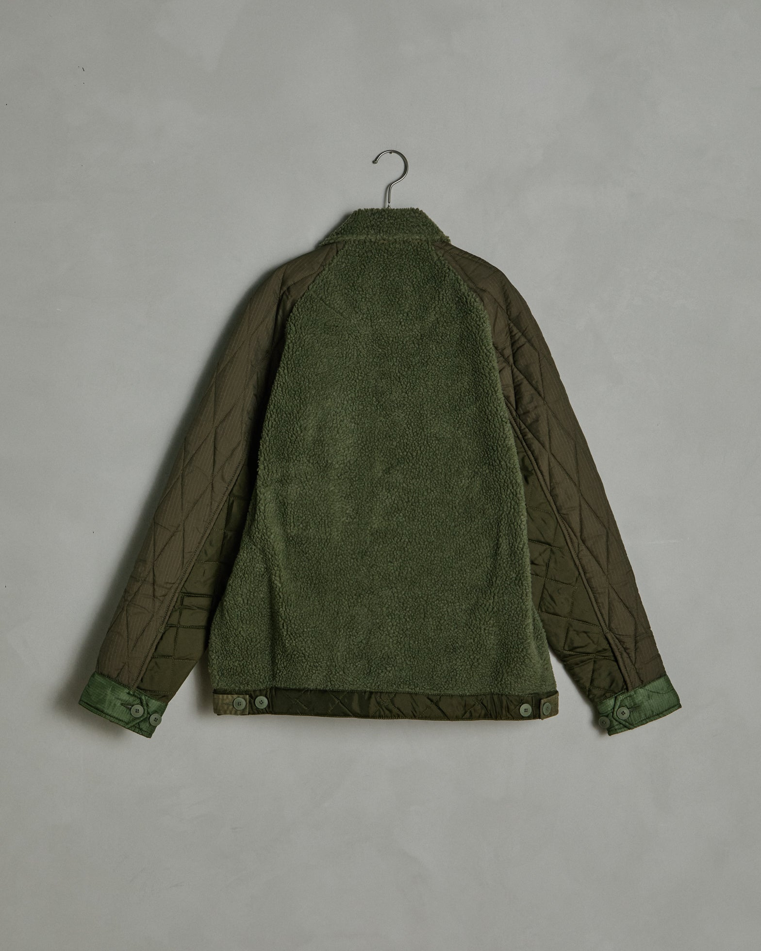 Upcycled Grizzly Jacket in Olive