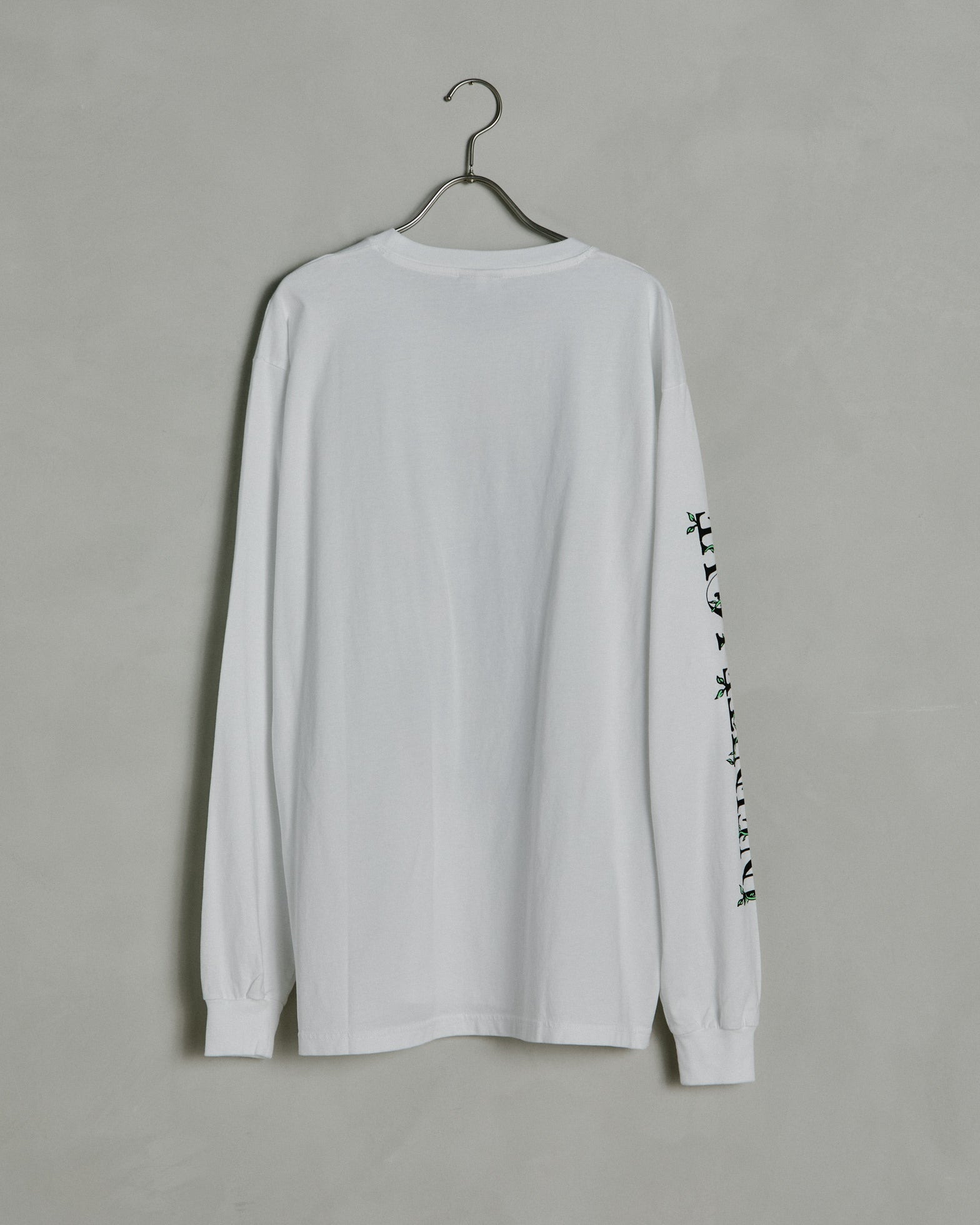 Infinite Love Long Sleeve Tee in White