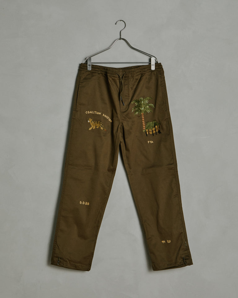 6363 Story Cloth Pants in Maha Olive