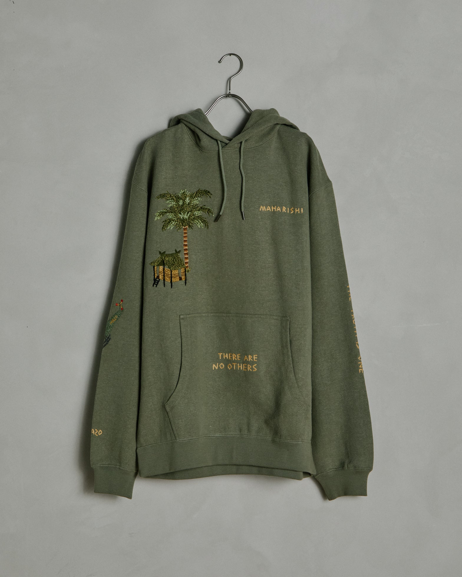 6363 Story Hooded Sweatshirt in Maha Olive