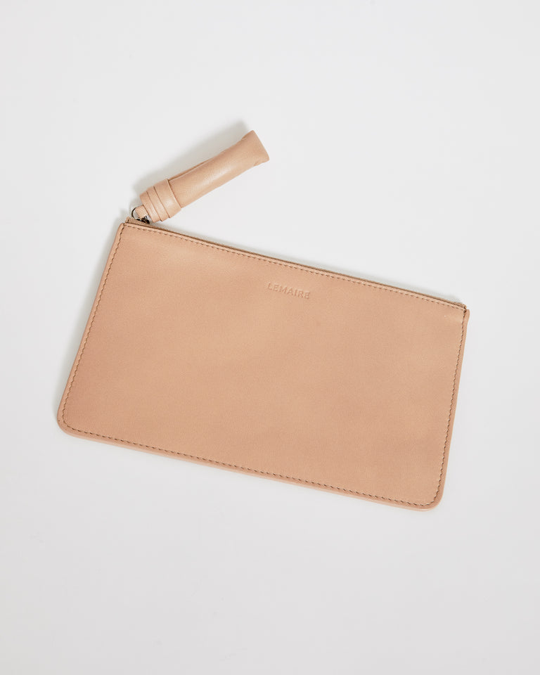 Unisex A5 Folder in Blond Beige