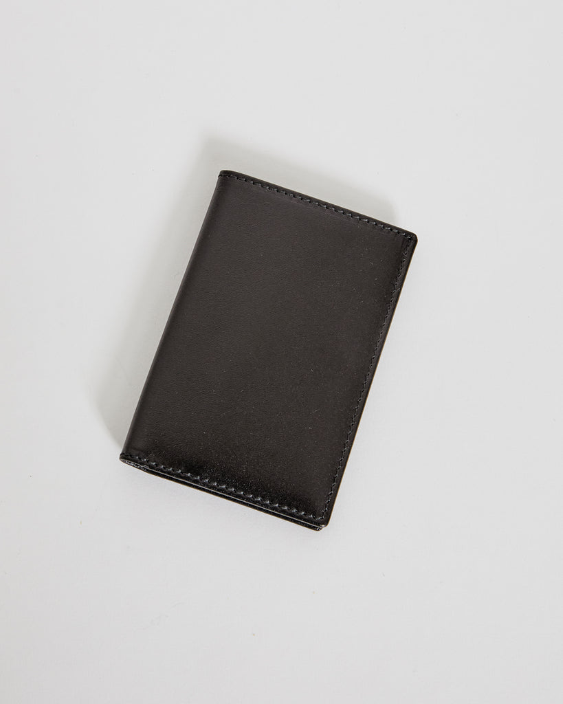 6400 Classic Leather Line Wallet in Black