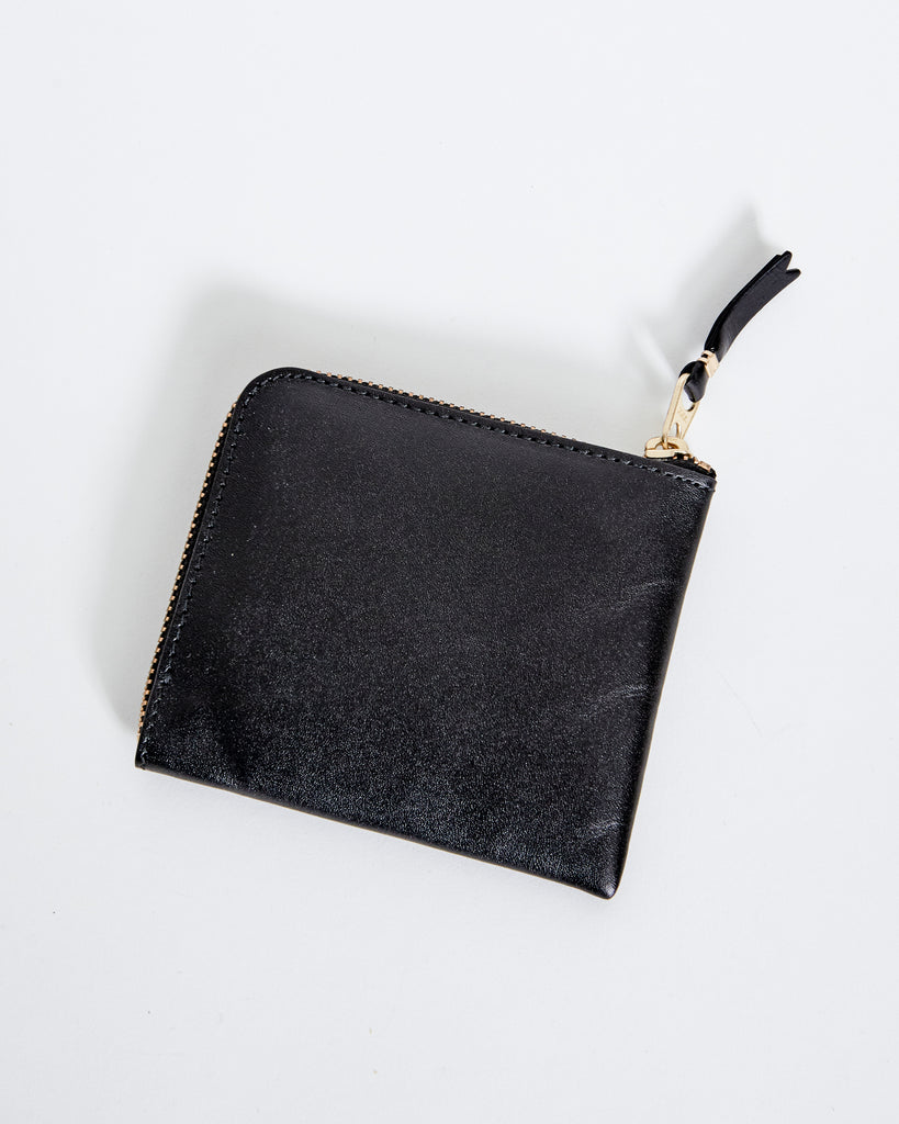 SA3100 Classic Leather Line Wallet in Black