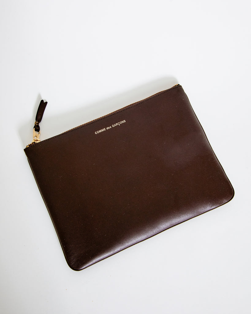 SA5100 Classic Leather Line Wallet in Brown