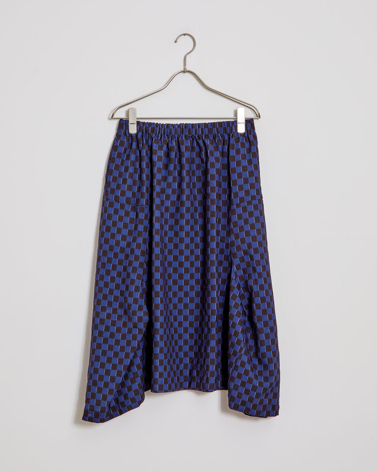 S016 Skirt in Black/Navy