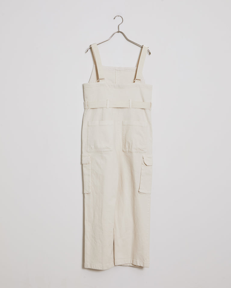 Venerate Jumpsuit in Dirty White