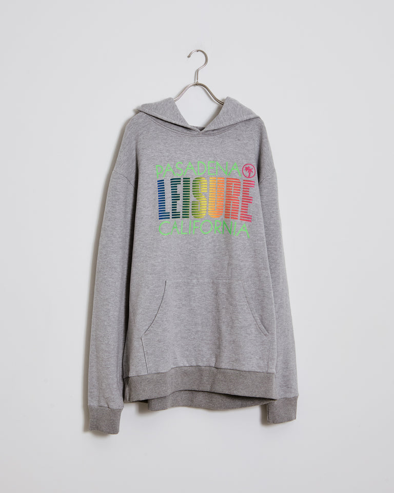 Tourist Hoodie in Heather Grey