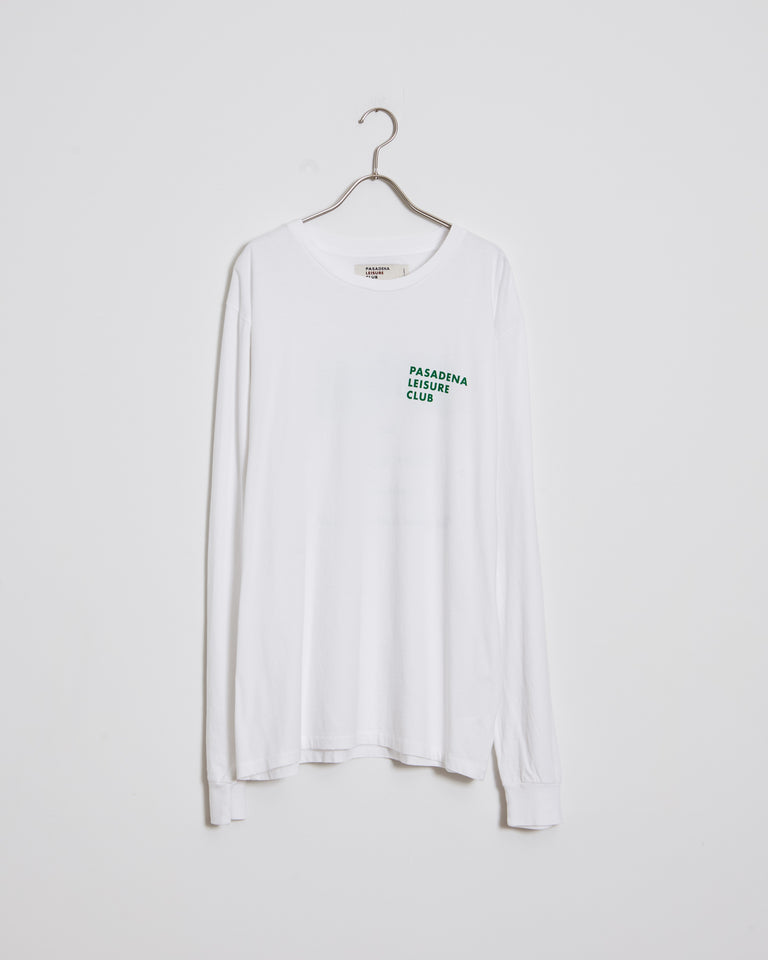 Easy Living Long Sleeve Tee in White