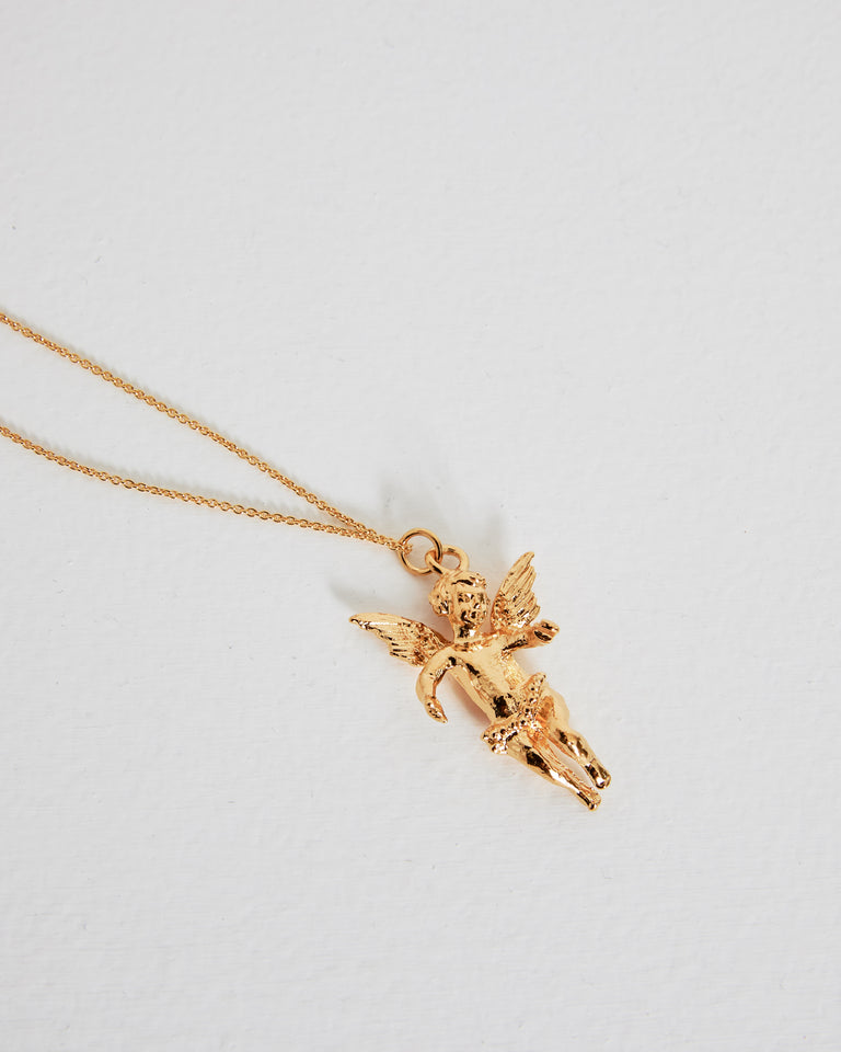 Angel Pendant in Gold