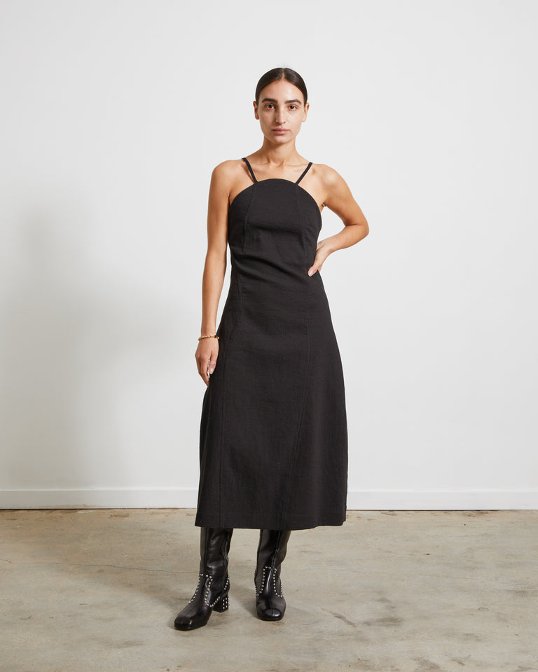 Curveline Dress in Black